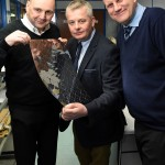 New Sales, New Jobs: (l-r) Stuart Weston, Chris Ball, Ian Whateley (all Advanced Chemical Etching)