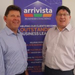 left to right - Simon Williams (Arrivista Business Coaching & Training) and Ciaran Leaden (Lloyds Bank)