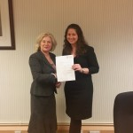 Newly qualified solicitor Heather Reynolds of Staffordshire law firm Bowcock & Pursaill.