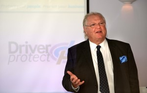 Business guru Lord Digby Jones praised the TTC Group's fleet road safety education campaign