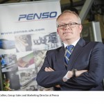 Michael Collins, Group Sales and Marketing Driector at Penso (Picture © Daniel Graves Photography 2014.)