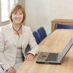 Susan Whiting, CEO of Market Square-based Stafford Railway Building Society