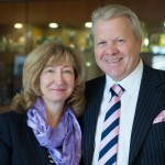 TTC Group founders and joint chairmen Graham and Jenny Wynn