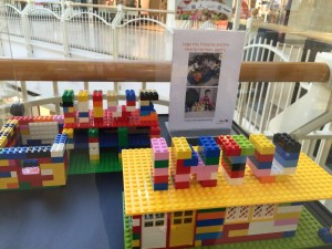 intu Potteries lego display Feb 16