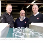 (l-r) Matt Harwood, Peter Tedd and Mark Harwood (all Barkley Plastics)