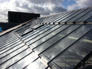 Howells Patent Glazing complete a recent job on Leeds City College