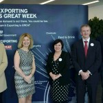 (l-r) Fraser Doherty, SuperJam; Dr Catherine Raines, UKTI CEO; Sue Mortimer, head of overseas trade services, UKTI; Paul Carvell, president of Coventry and Warwickshire Chamber of Commerce; Will Butler-Adams, CEO, Brompton Bikes.