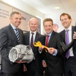 Head of Manufacturing & Automotive, Richard Hill, Managing Director of Midlands & East England, Corporate & Commercial Banking, Andrew Harrison, Head of Infrastructure & Industrials, Keith White and Head of Corporate and Commercial Coverage, Andy Gray.