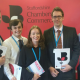 Chamber staff at LDB stand