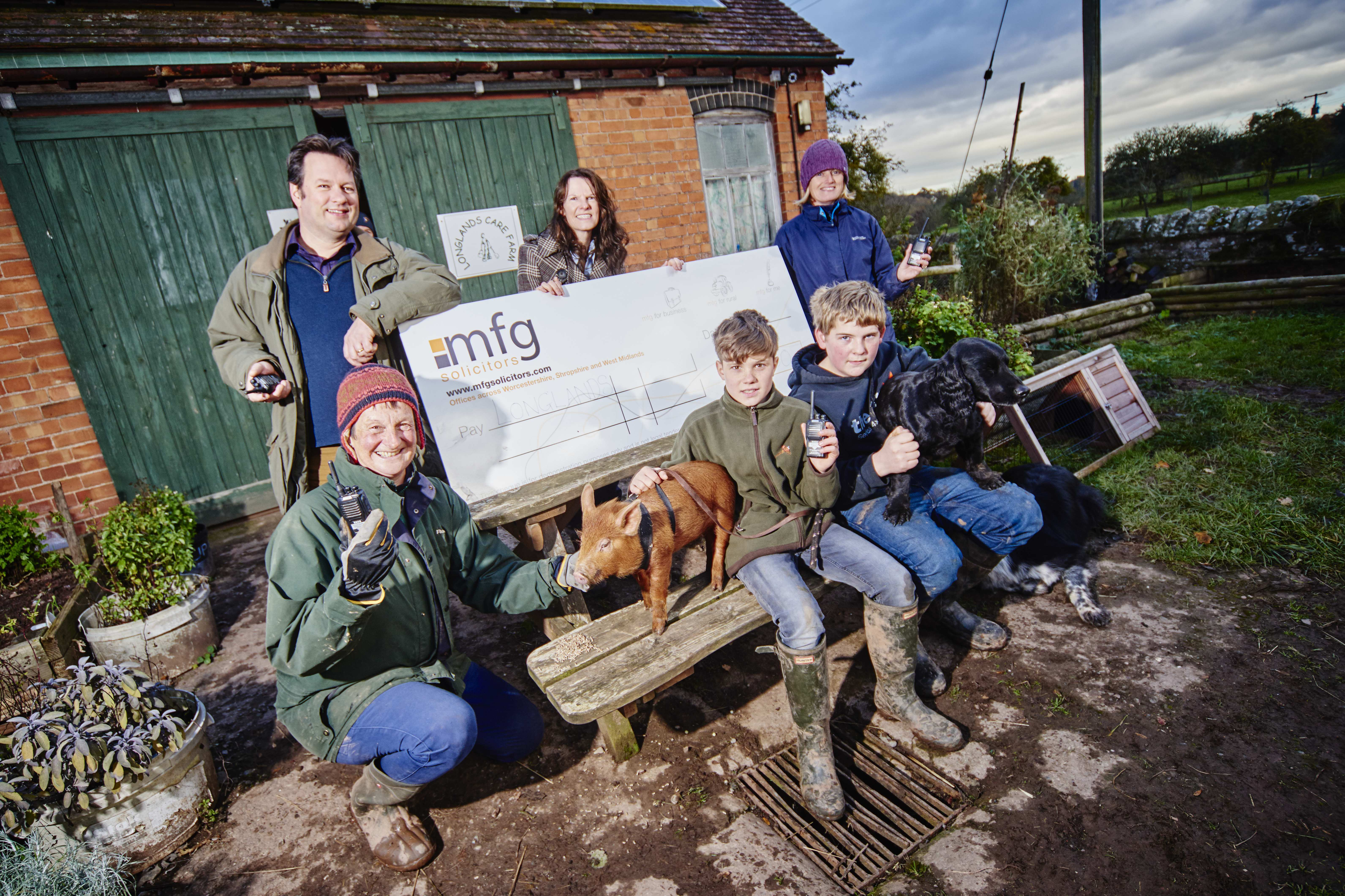 Law firm's funding helps boost farming skills charity ...