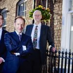 l-r mfg partners Richard Connolly, Peter Stephens and Alastair Brierley