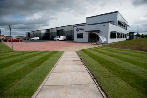 The new headquarters of GB Electrical at Skylon Park on the Hereford Enterprise Zone