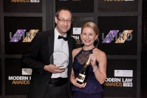 Modern Law Awards - Outstanding Commitment to Training