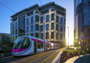 Midland Metro's extension to the heart of Birmingham city centre opened in May 2016