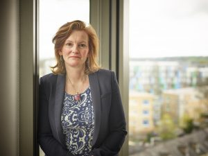 Claire Clarke, Managing partner at Mills & Reeve