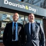 Jeremy Day and Steve Dourish at the Penkridge office.