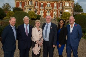 l-r Adam Warren, Andrew Grant, Tracey Lowe, Kevin Powell, Julia Williams and Dale Parmenter