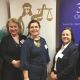 From left Janine Smith, Head of CPS East Midlands_ Mrs Justice Carr DBE_ Katy Thorne QC, Doughty Street Chambers and Founder of WICL_ Michelle Heeley QC, No5 Barristers' Chambers and Mary Prior QC of The 36 Grou.png