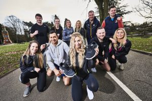 Lawyers tackle gruelling 'Wolf Run' for charity..