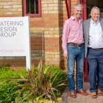 Phil Howard, managing director, Catering Design Group, is pictured here (centre) with Steve Hutchings, director, and Helen Davis, commercial director of CDG