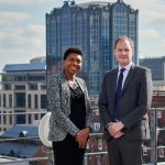 Sandy Munroe and Tim Coolican, both new partners at Anthony Collins Solicitors