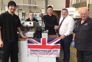 Fracino fuels campaign to equip veterans with barista skills