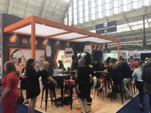 West Midlands stand - The Meetings Show 2019