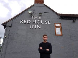 General Manager Richard Knight at the Red House