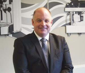 Peter Atmore, Fracino's head of global sales