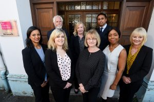 The FBC Manby Bowdler property team at Redditch. BACK - Richard Caley, Alison Styler, Ifzal Akhtar, FRONT - Arti Dhall, Annie Brazier, Claire Lee, Veronica Du'Quesnay, Jayne Frampton