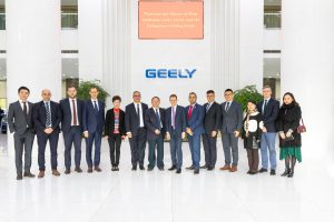 West Midlands cohort at Geely's HQ