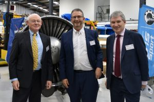 L-R- Cllr Allan Rhead (Warwick District Council), Jon Freedman (CFS Aeroproducts), Graham Mold (FDC) (1)